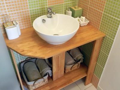 Salle de bain chambre hotes touraine