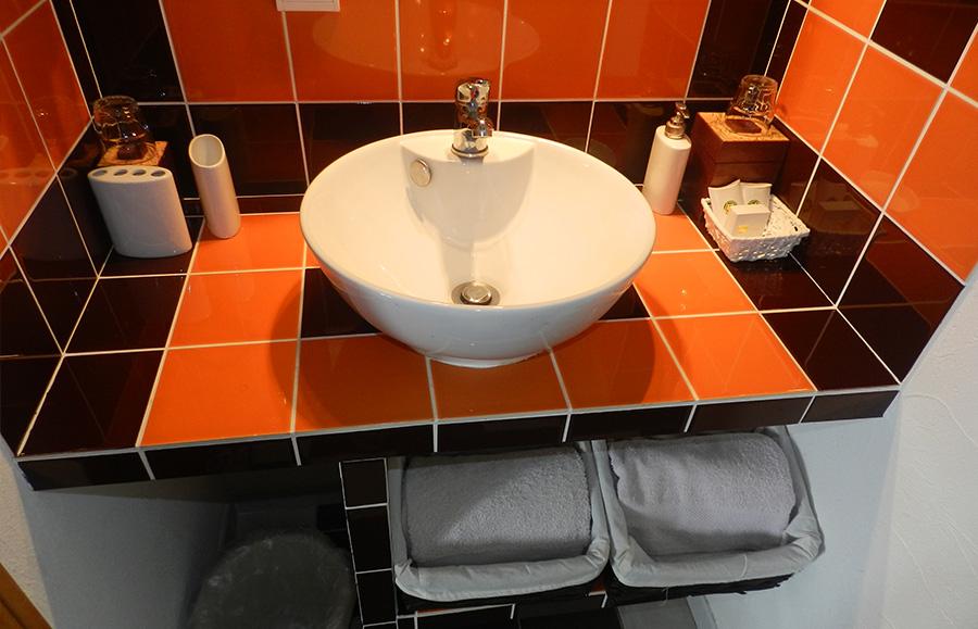 Salle de bain suite automne 2 chambres d 39 h tes touraine - Chambre d hote civray de touraine ...